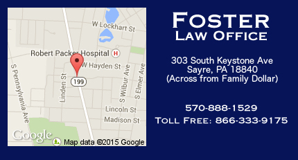 Attorneys - Sayre, PA - Foster Law Offices