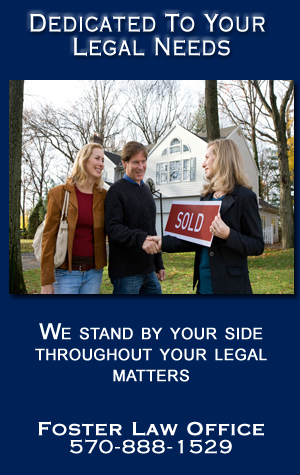 Real Estate Attorney - Sayre, PA - Foster Law Offices